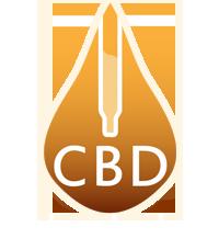 Logo CBD kvapky