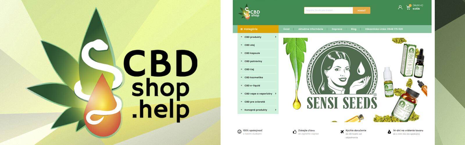 Predajca overených CBD produktov CBDshop.help